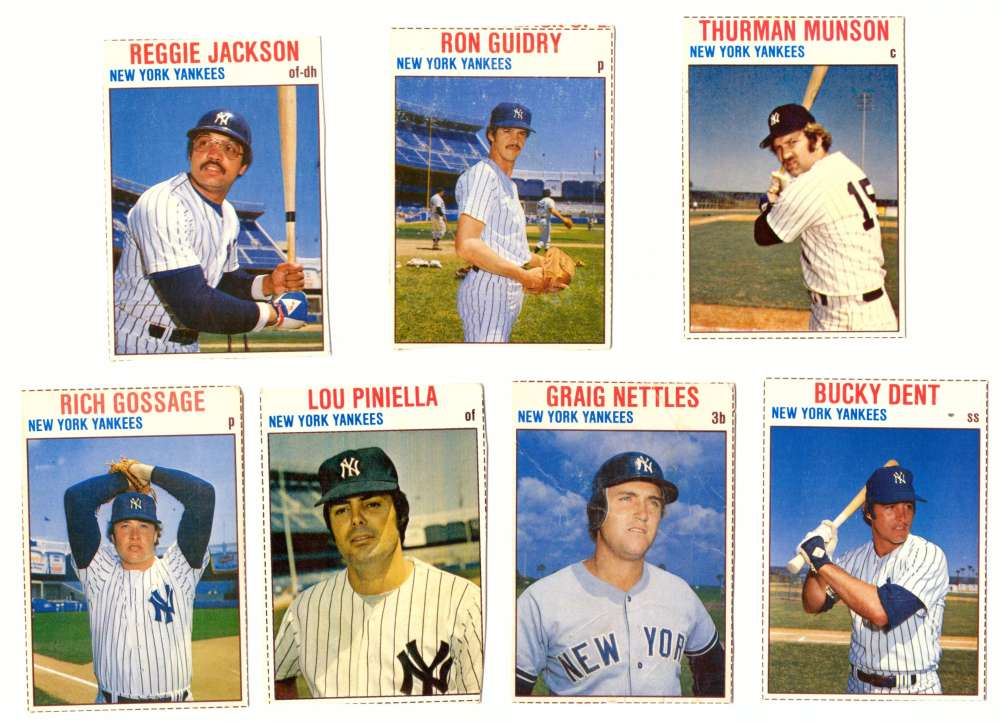1979 Hostess (A) - NEW YORK YANKEES Team Set