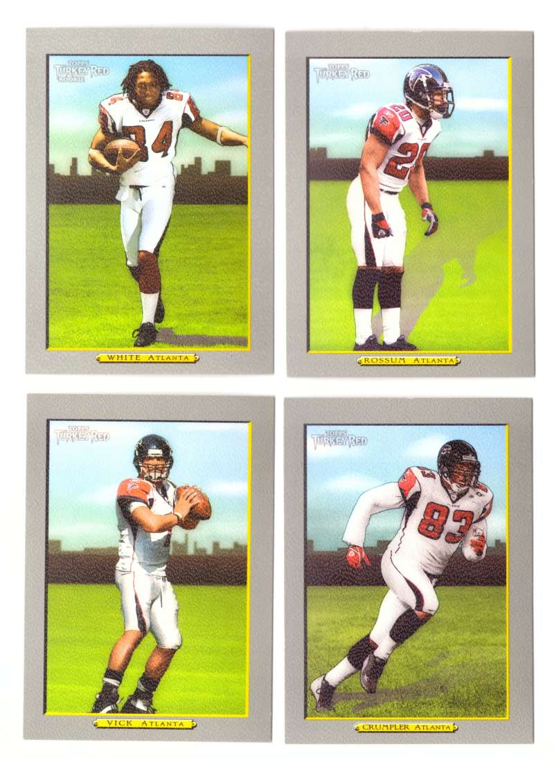 2005 Topps Turkey Red Football Team Set - ATLANTA FALCONS