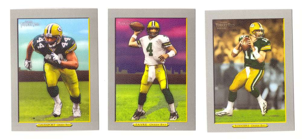 2005 Topps Turkey Red Football Team Set - GREEN BAY PACKERS
