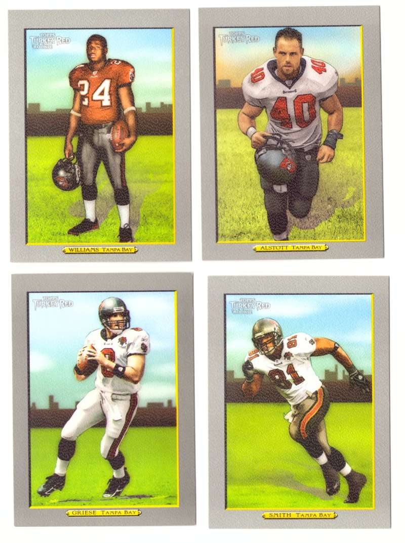2005 Topps Turkey Red Football Team Set - TAMPA BAY BUCCANEERS