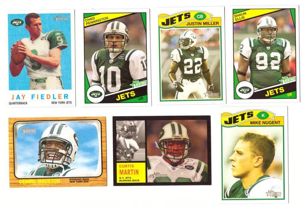 2005 Topps Heritage Football Team Master Set - NEW YORK JETS