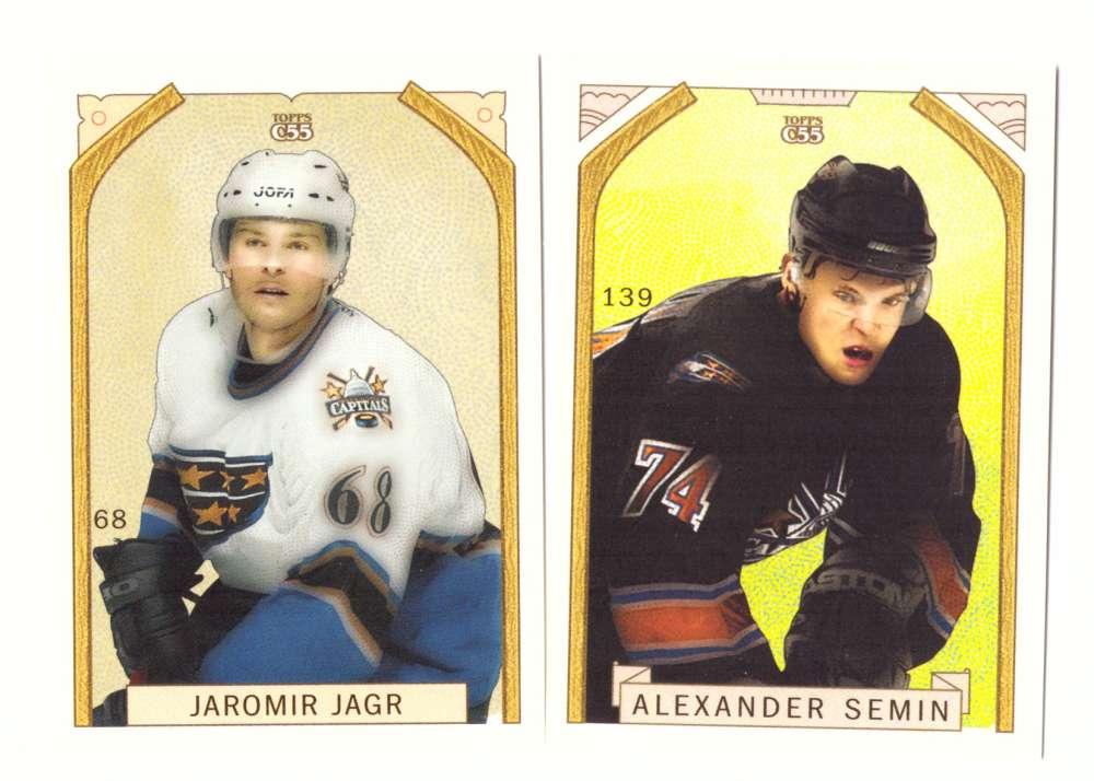2003-04 Topps C55 Hockey Team Set - Washington Capitals