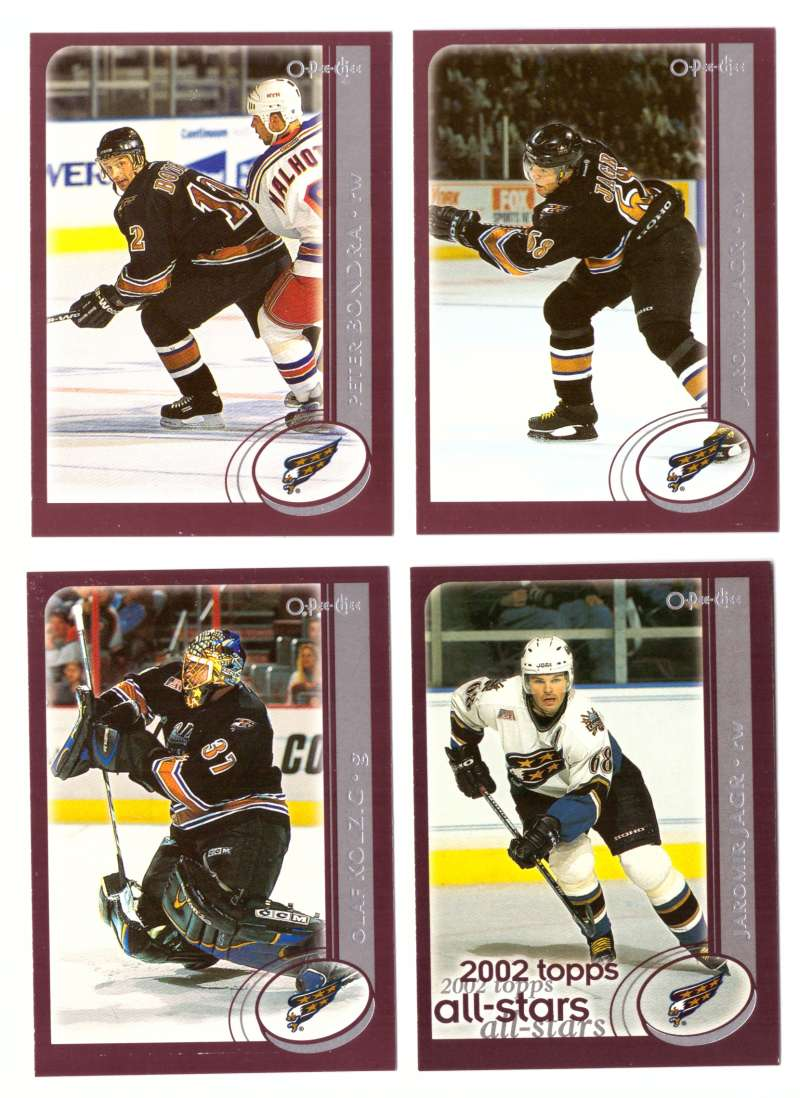 2002-03 O-Pee-Chee OPC Hockey Team Set - Washington Capitals