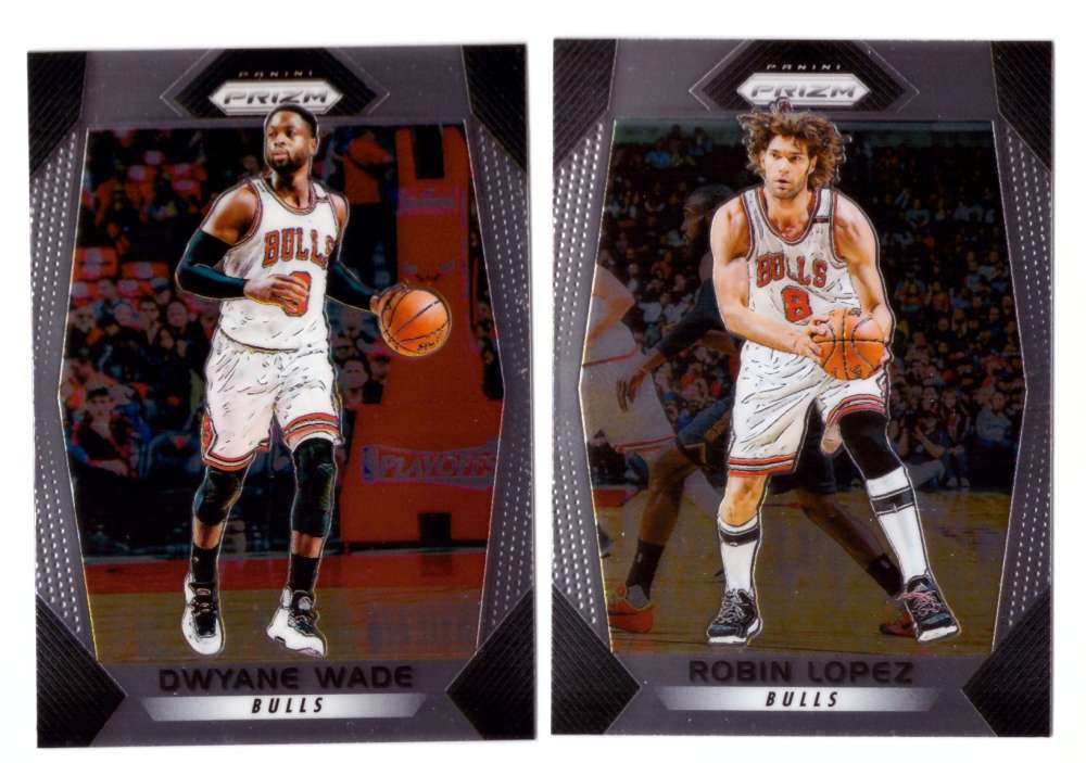 2017-18 Panini Prizm Basketball Team Set - Chicago Bulls