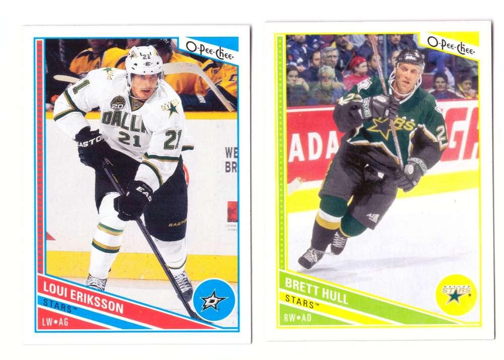 2013-14 O-Pee-Chee (Base 1-500 OPC) Hockey Team Set - Dallas Stars