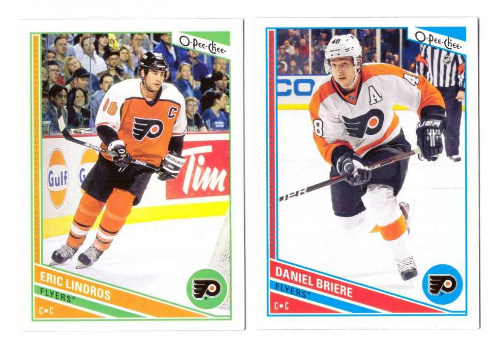 2013-14 O-Pee-Chee (Base 1-500 OPC) Hockey Team Set - Philadelphia Flyers