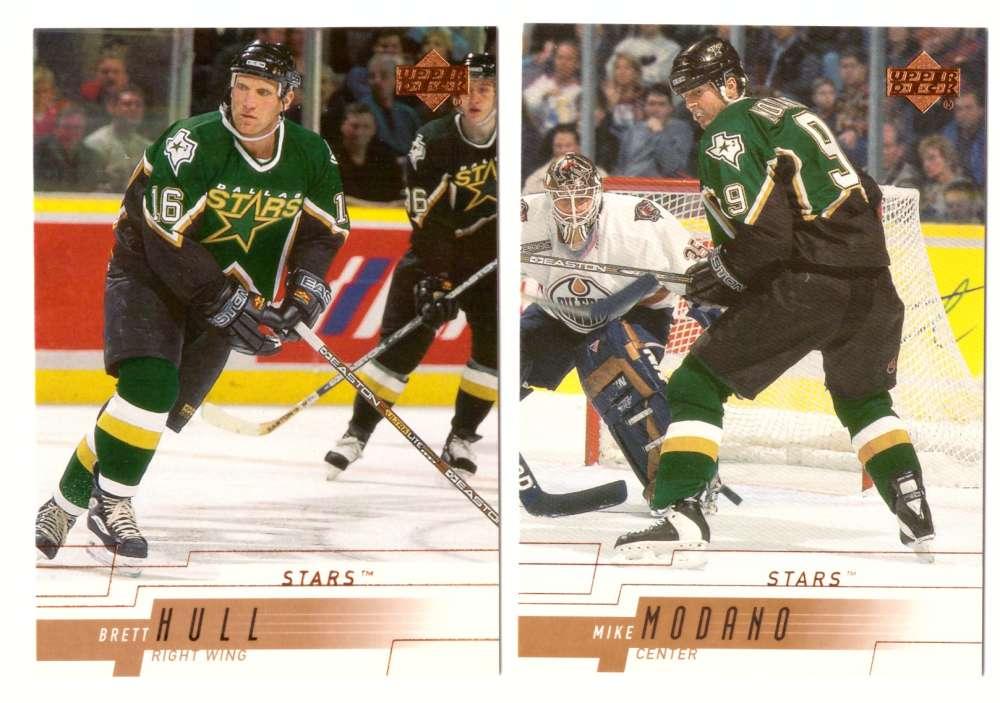 2000-01 Upper Deck (Base) Hockey Team Set - Dallas Stars