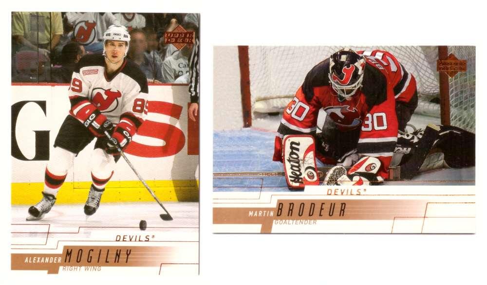 2000-01 Upper Deck (Base) Hockey Team Set - New Jersey Devils