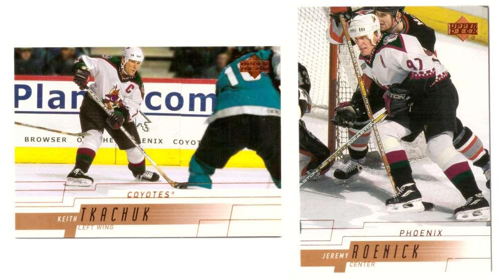 2000-01 Upper Deck (Base) Hockey Team Set - Phoenix Coyotes