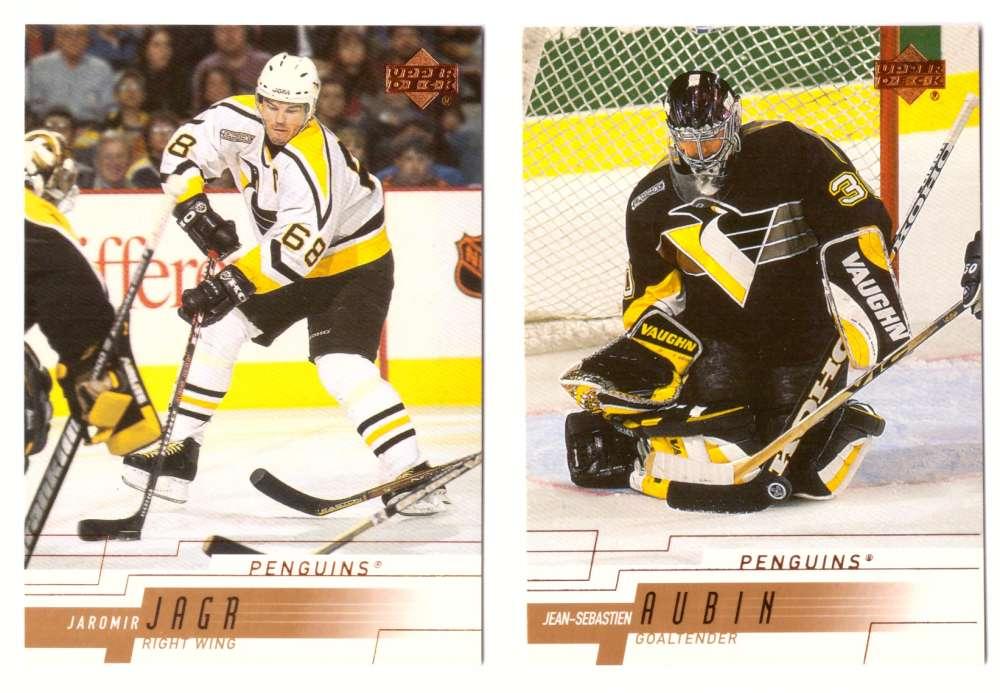 2000-01 Upper Deck (Base) Hockey Team Set - Pittsburgh Penguins