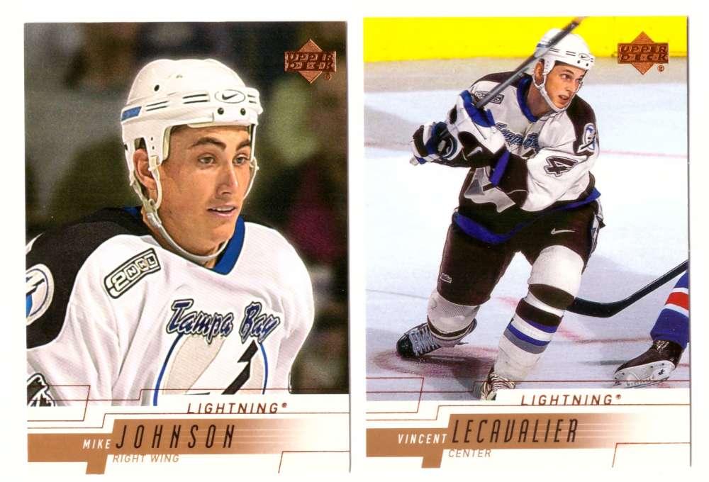 2000-01 Upper Deck (Base) Hockey Team Set - Tampa Bay Lightning