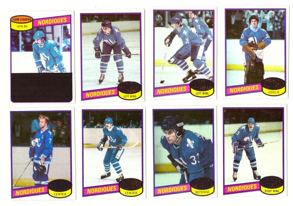1980-81 Topps Hockey Team Set - Quebec Nordiques