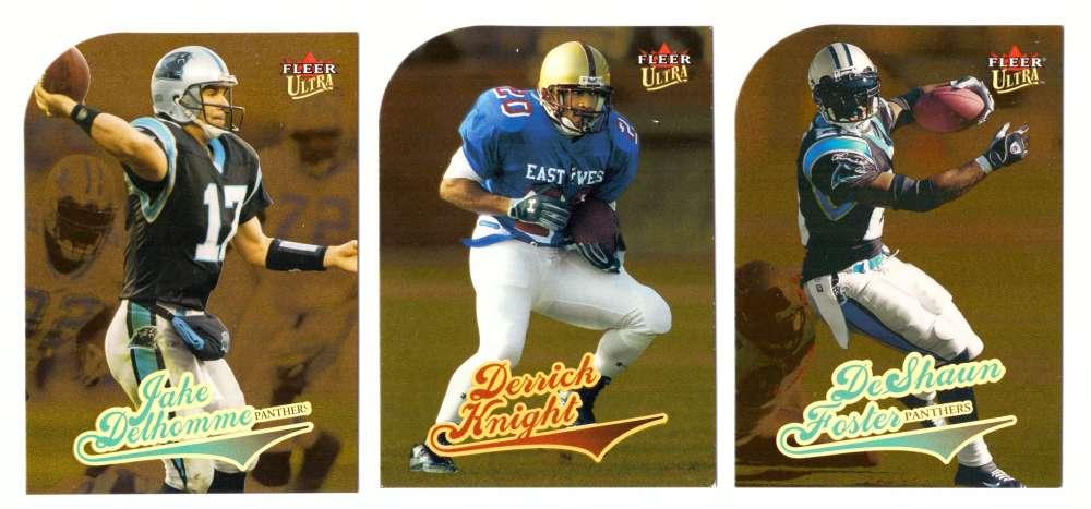 2004 Ultra Gold Medallion Football (1-232) Team Set - CAROLINA PANTHERS