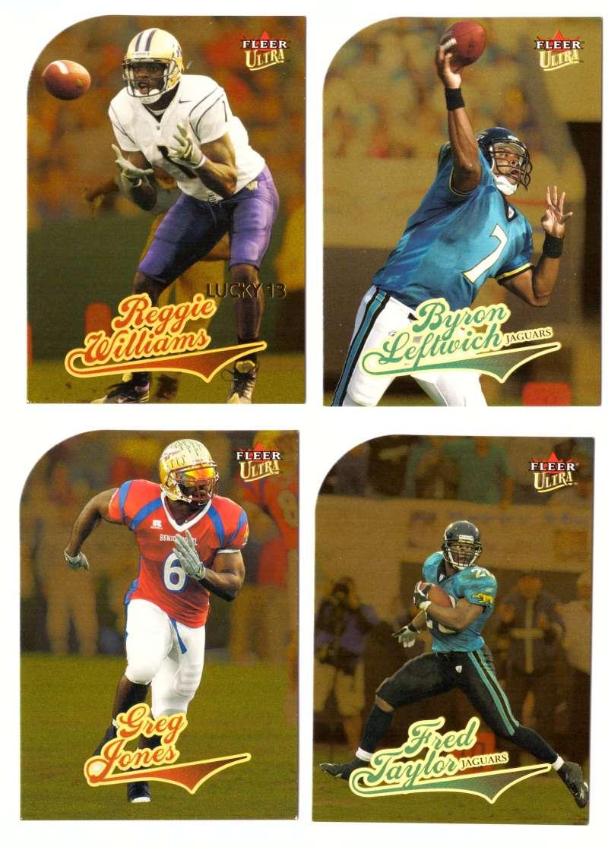 2004 Ultra Gold Medallion Football (1-232) Team Set - JACKSONVILLE JAGUARS