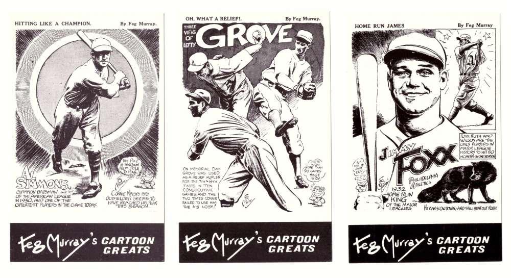 1981 Feg Murray's Cartoon Greats - PHILADELPHIA As