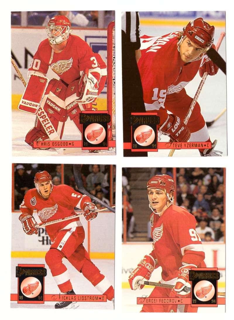 1993-94 Donruss Hockey Team Set - Detroit Red Wings
