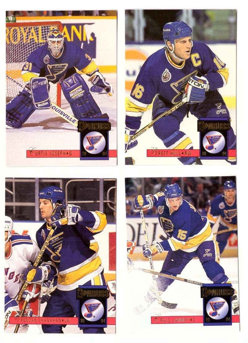 1993-94 Donruss Hockey Team Set - St. Louis Blues