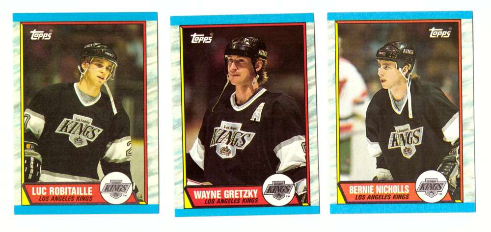 1989-90 Topps Hockey Team Set - Los Angeles Kings