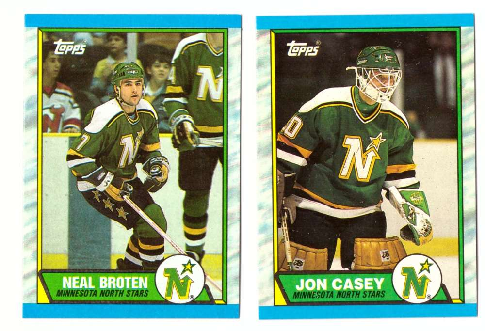 1989-90 Topps Hockey Team Set - Minnesota North Stars