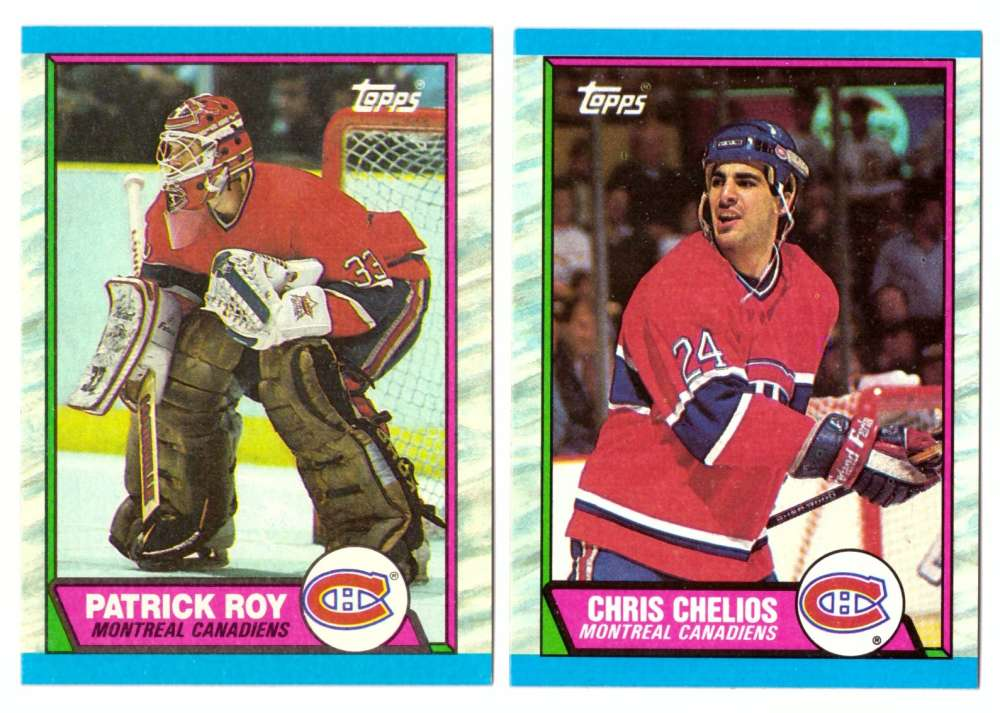 1989-90 Topps Hockey Team Set - Montreal Canadiens