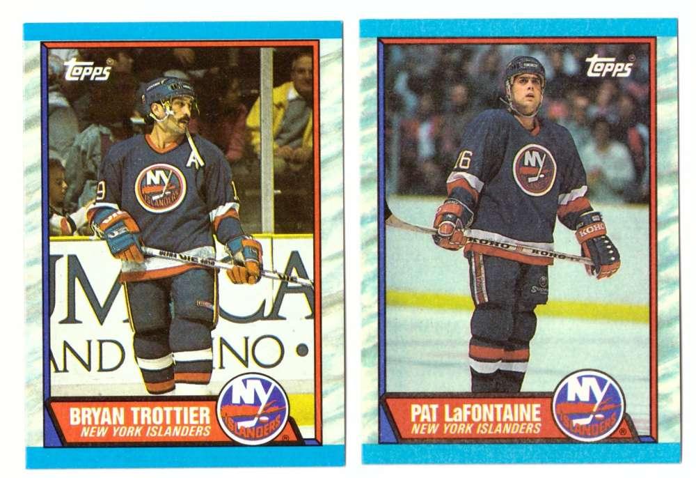 1989-90 Topps Hockey Team Set - New York Islanders