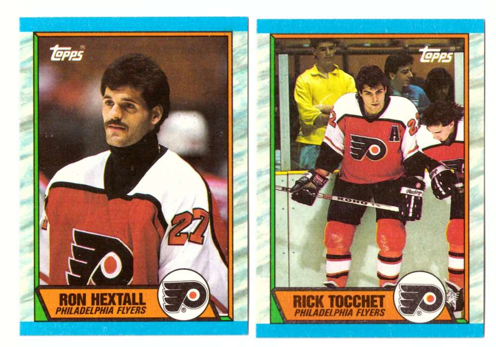 1989-90 Topps Hockey Team Set - Philadelphia Flyers