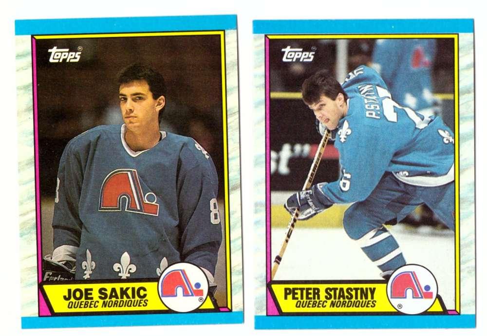 1989-90 Topps Hockey Team Set - Quebec Nordiques