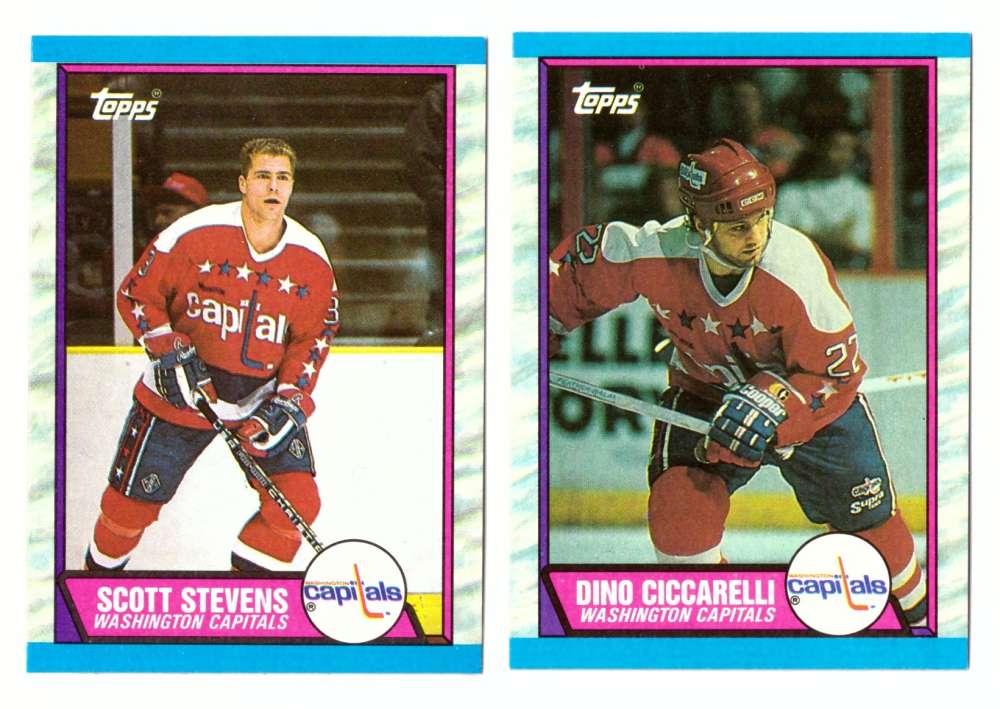 1989-90 Topps Hockey Team Set - Washington Capitals