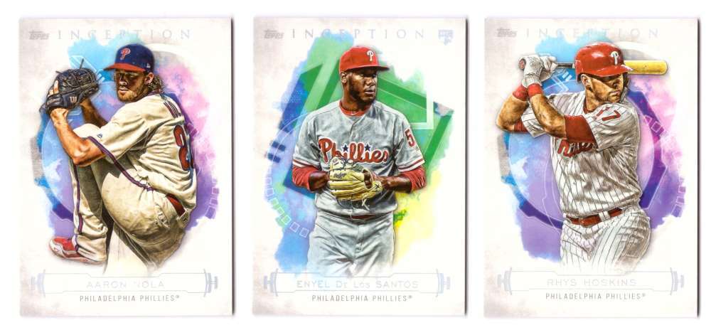 2019 Topps Inception - PHILADELPHIA PHILLIES Team Set