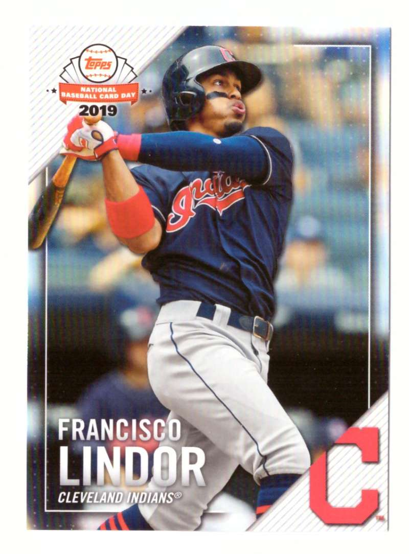 2019 Topps National Baseball Card Day - CLEVELAND INDIANS
