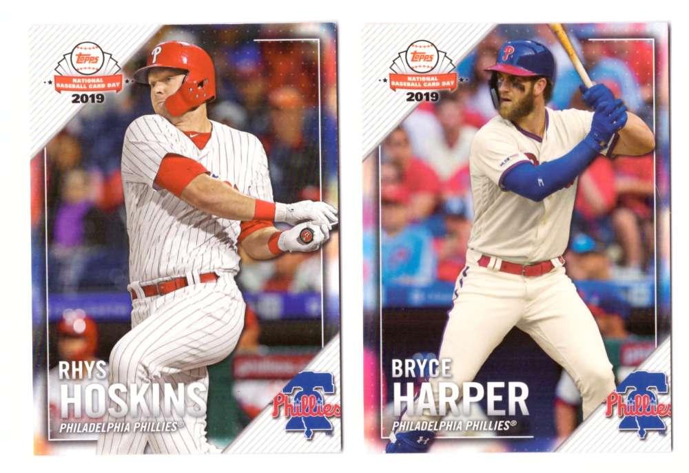 2019 Topps National Baseball Card Day - PHILADELPHIA PHILLIES