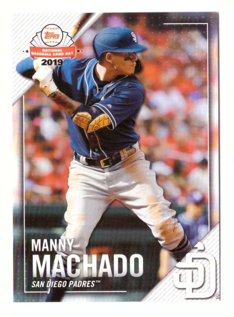2019 Topps National Baseball Card Day - SAN DIEGO PADRES