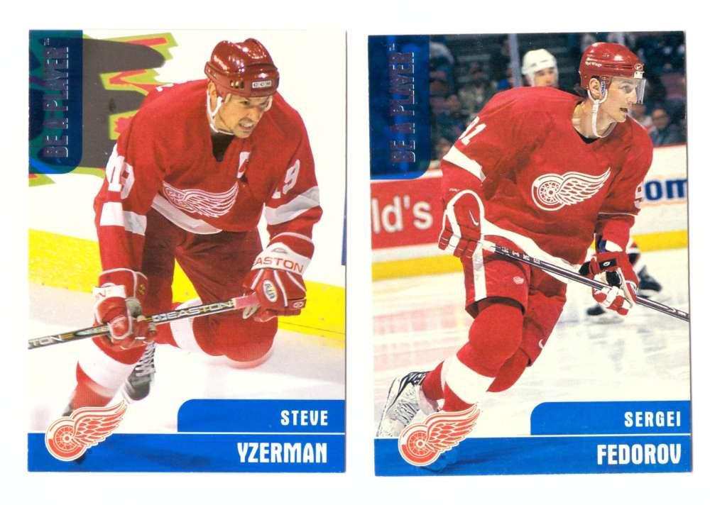 1999-00 BAP Memorabilia Hockey (1-400) Team Set - Detroit Red Wings