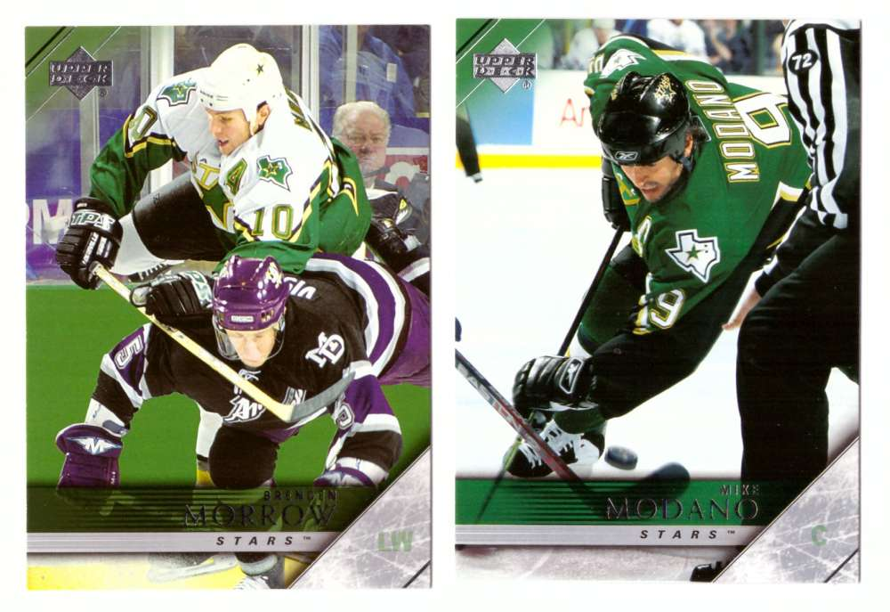 2005-06 Upper Deck Hockey Team Set (1-200, 243-442) Dallas Stars