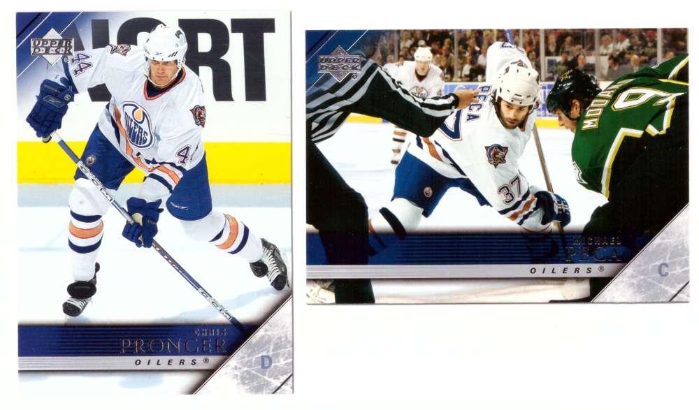 2005-06 Upper Deck Hockey Team Set (1-200, 243-442) Edmonton Oilers