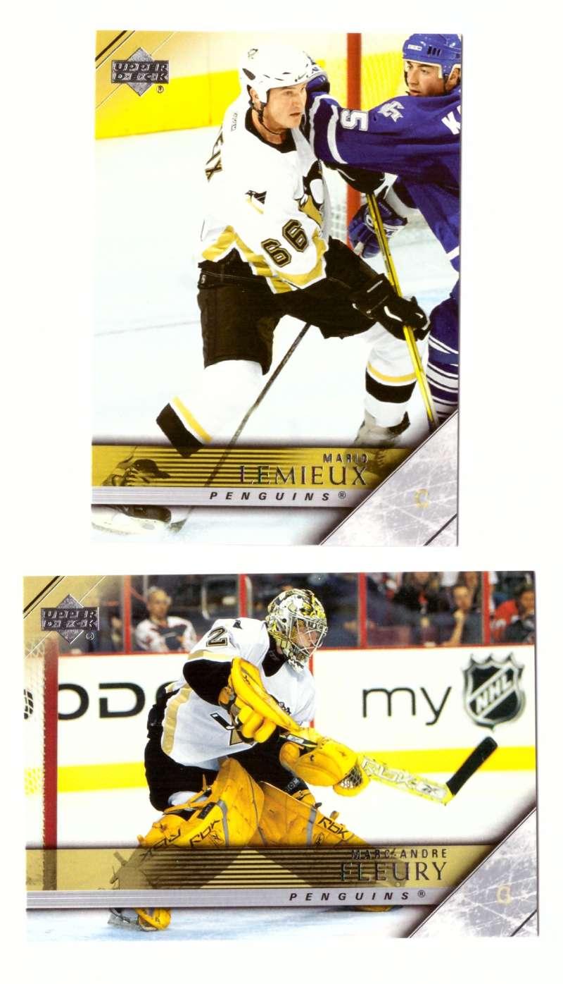 2005-06 Upper Deck Hockey Team Set (1-200, 243-442) Pittsburgh Penguins