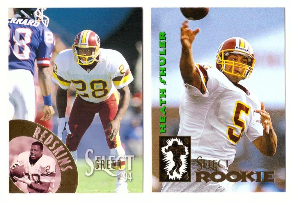 1994 Select Football Team Set - WASHINGTON REDSKINS
