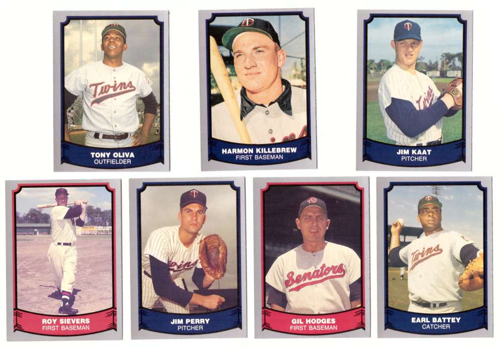 1988 Pacific Legends - SENATORS/MINNESOTA TWINS Team Set