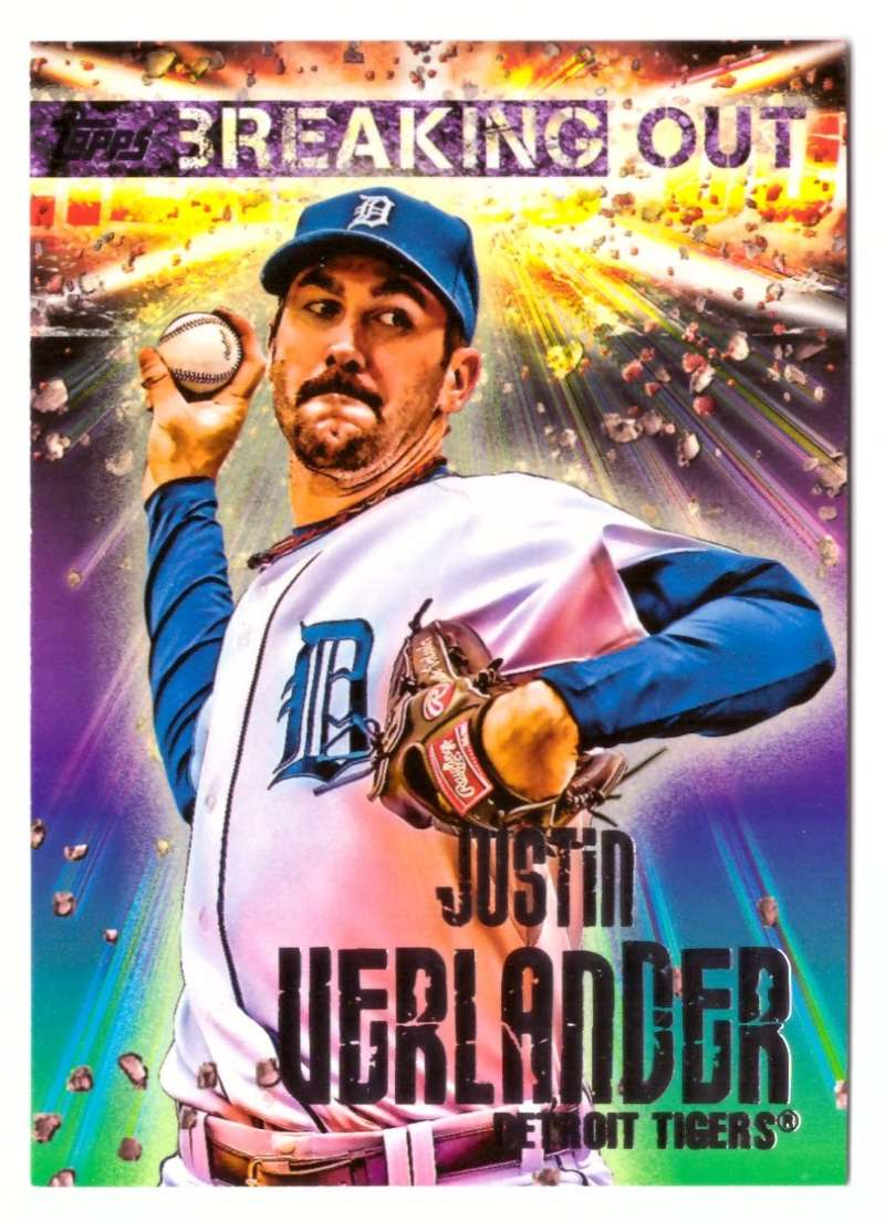 2014 Topps Opening Day Breaking Out - DETROIT TIGERS