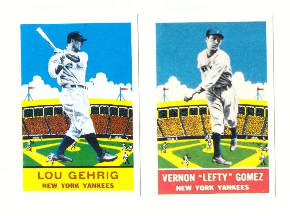 1933 DeLong (R333) Reprints - NEW YORK YANKEES Team Set