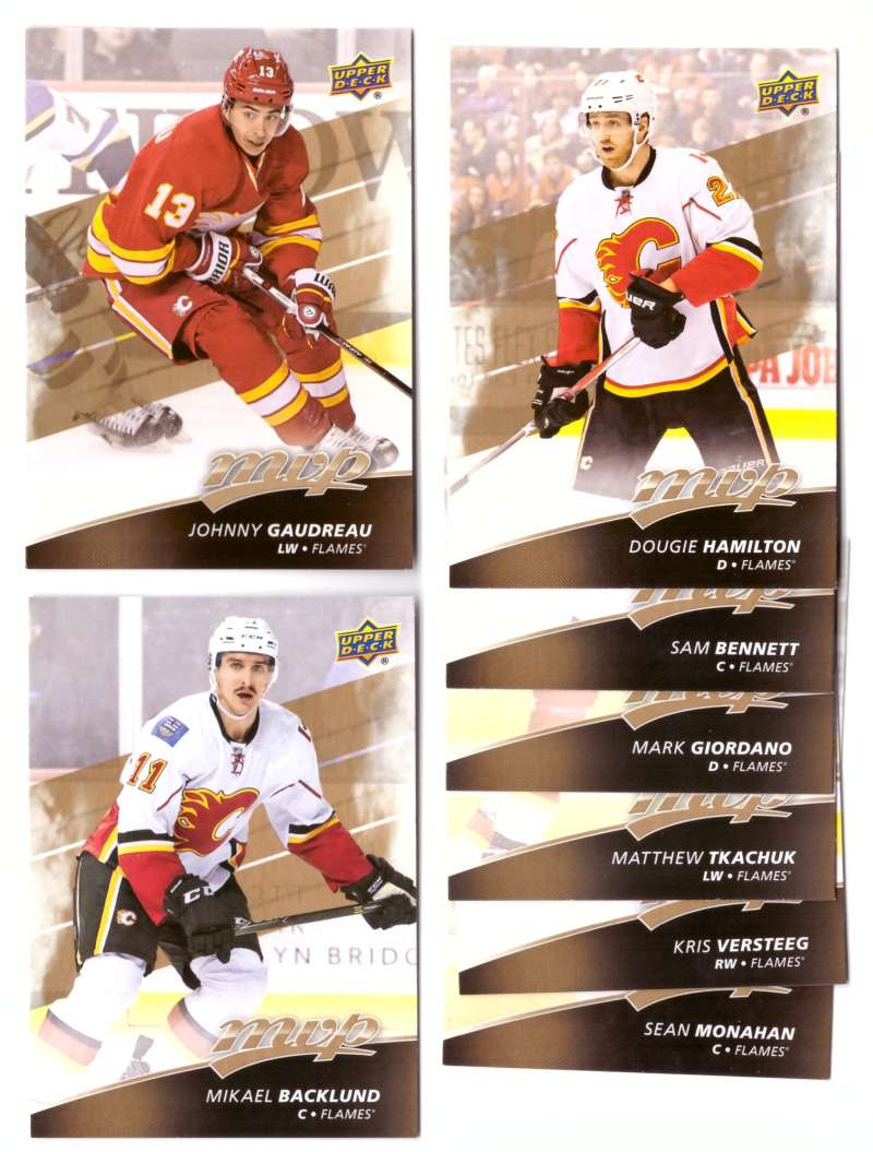 2017-18 Upper Deck MVP (1-250) Hockey Team Set - Calgary Flames