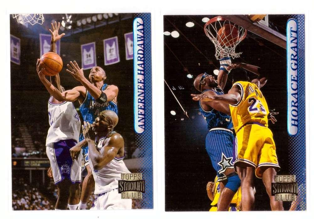 1996-97 Stadium Club Basketball Team Set - Orlando Magic
