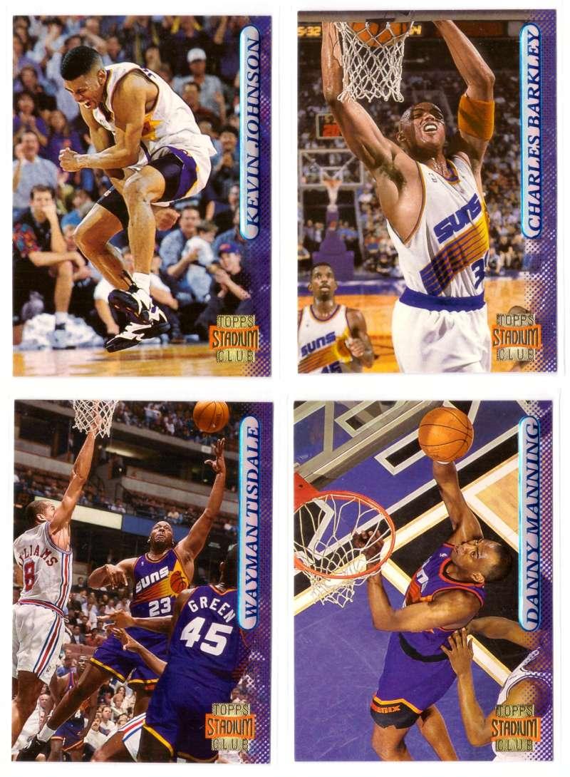 1996-97 Stadium Club Basketball Team Set - Phoenix Suns