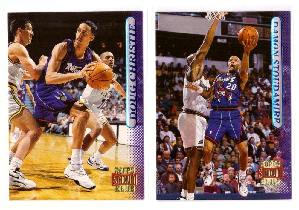1996-97 Stadium Club Basketball Team Set - Toronto Raptors
