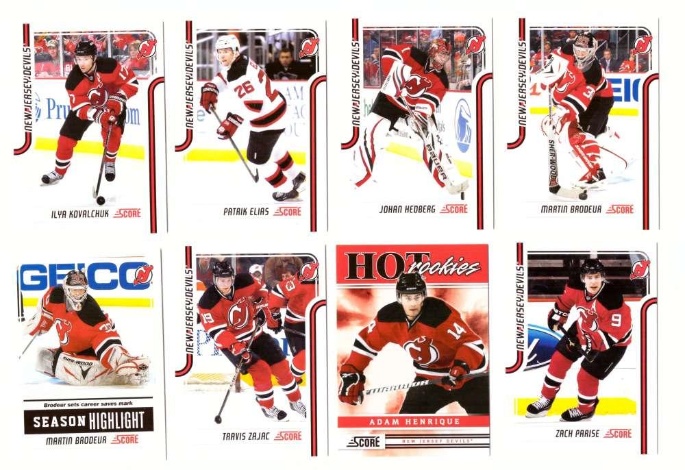 2011-12 Score Hockey (1-546) Team Set - New Jersey Devils