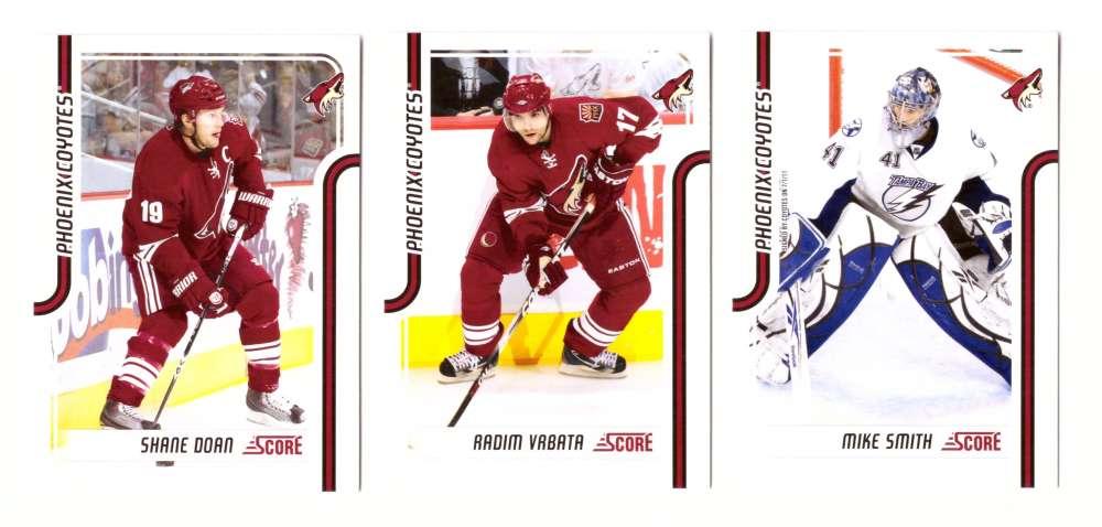 2011-12 Score Hockey (1-546) Team Set - Phoenix Coyotes