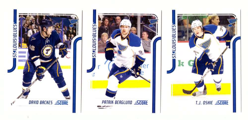2011-12 Score Hockey (1-546) Team Set - St. Louis Blues
