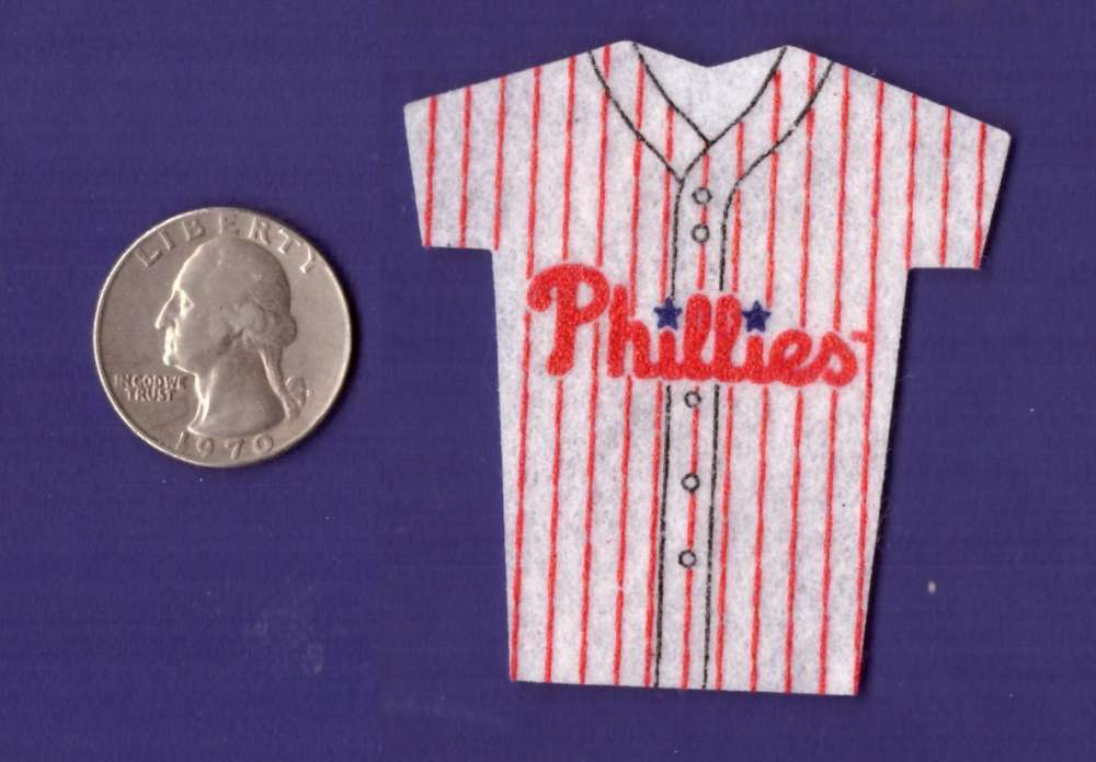 1994 Kelloggs Mini Jersey - PHILADELPHIA PHILLIES