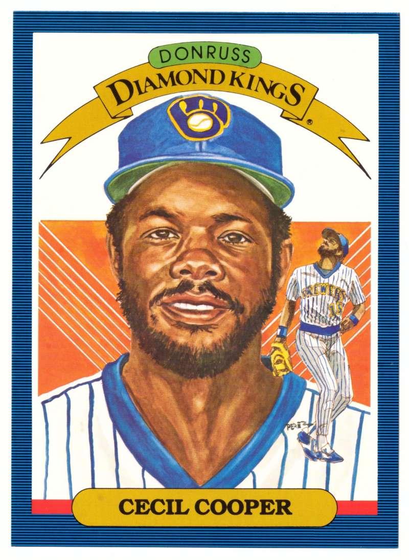 1986 Donruss Super Diamond Kings - MILWAUKEE BREWERS
