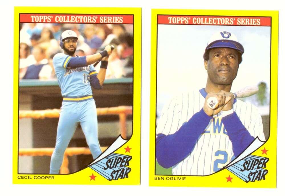 1986 Topps Baseball Champion SuperStars - MILWAUKEE BREWERS Team Set